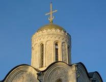 Купол церков в Владимире стоковое фото rf