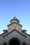 Купол церков Kashveti Стоковые Изображения RF