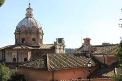 купол rome стоковые изображения rf