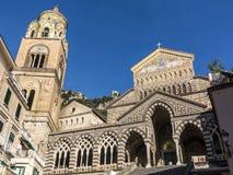 Купол Амальфи, Италии стоковые фотографии rf
