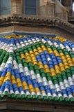 Купол базилики del Pilar Стоковые Изображения RF