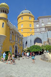 Купол башни замка Pena, Sintra, Португалия Стоковые Изображения