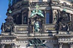 Фасад Dom Берлина, конец-вверх Стоковые Изображения