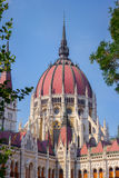 Купол венгерского парламента Стоковое Изображение RF