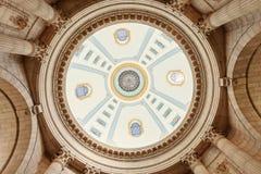 Купол здания Манитобы законодательного стоковые фото