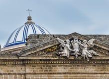 Купол и ангелы Стоковое Изображение