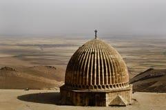 Купол мечети Ulu, Mardin-Турция Стоковое Изображение