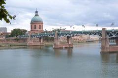 Купол могилы моста и Ла St Pierre Стоковое фото RF