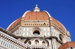 Куполок собора Флоренса, Флоренс, Италия Стоковые Фото