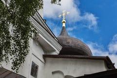 Купол собора Dormition в горах Pushkin Стоковое Изображение RF