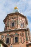 купол собора St Peter и Пола в Казани, республике Татарстана, России Стоковое Фото
