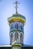 Купол с крестами и изображениями Святых Стоковые Фотографии RF
