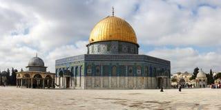 Купол утеса в Иерусалиме Стоковое фото RF