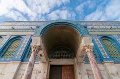 Купол утеса, Иерусалима, Израиля стоковая фотография rf