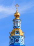 Купол христианских православных церков церков Стоковое фото RF