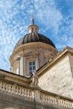 Купол церков в Дубровнике Стоковое Изображение