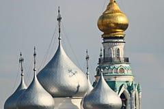 купол церков золотистый Стоковое фото RF