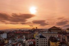 Купол церков на восходе солнца Стоковое фото RF