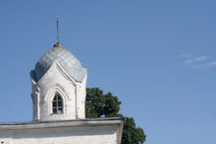 Купол церков против неба Стоковое фото RF