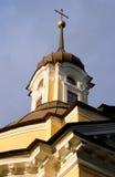 Купол церков святых апостолов Питера и Пола в Znamenka Стоковое Изображение