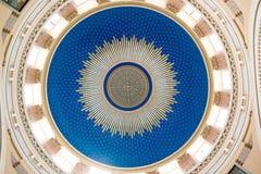 Купол церков Чарльза Borromeo на кладбище централи вены Стоковое Изображение RF