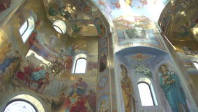 Купол церков сток-видео