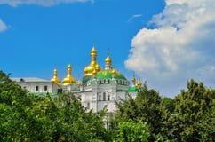Куполы и кресты собора St Sophia Стоковые Фото