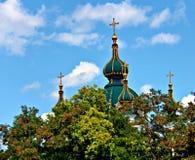 Куполы и рай Стоковые Фотографии RF
