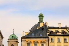 Куполы старого Lvov Стоковая Фотография