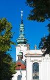 Куполы церков в деревьях Стоковая Фотография RF