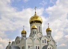 Куполы церков Стоковая Фотография