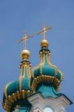 Куполы церков St Andrew Стоковое Фото