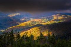 Купол Clingman, Северная Каролина, США Стоковое Изображение RF