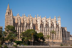 Купол Palma de Mallorca, Испании Стоковое Изображение RF