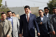 курдское главный министра Стоковые Фотографии RF