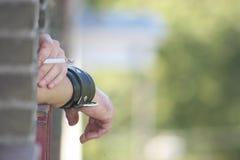 курильщица Стоковые Фото