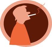 курильщица бесплатная иллюстрация