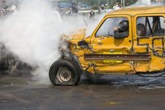Курить грузового пикапа Стоковая Фотография