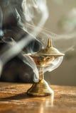 Курить масляной лампы Стоковая Фотография RF