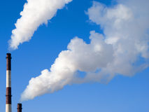 курить печных труб Стоковая Фотография RF
