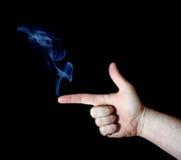 курить пушки перста Стоковое Изображение RF
