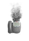курить телефона Стоковые Изображения RF