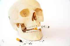 Курить убийства, останавливает курить Стоковое Изображение RF