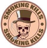 курить убийств Стоковые Изображения