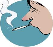 курить Стоковые Фото