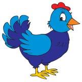 Курица (зажим-искусство вектора) иллюстрация вектора