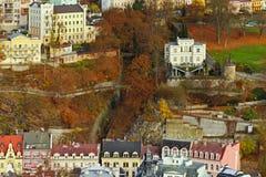 Курортный город Карлсбада Стоковое Изображение RF