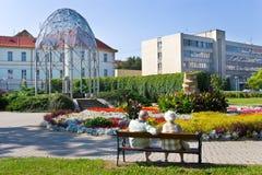 Курортный город Teplice, Богемия, чехия, Европа Стоковые Изображения RF