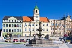 Курортный город Teplice, Богемия, чехия, Европа Стоковые Фотографии RF