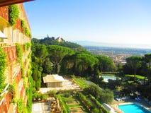 Курортный отель в Италии Стоковые Изображения RF